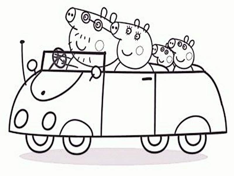 Pintando Y Coloreando Dibujos Animados De Pepo Pig