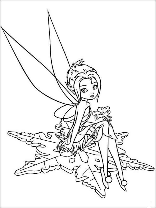 Lujo Hadas De Disney Para Colorear Periwinkle Componente - Dibujos ...