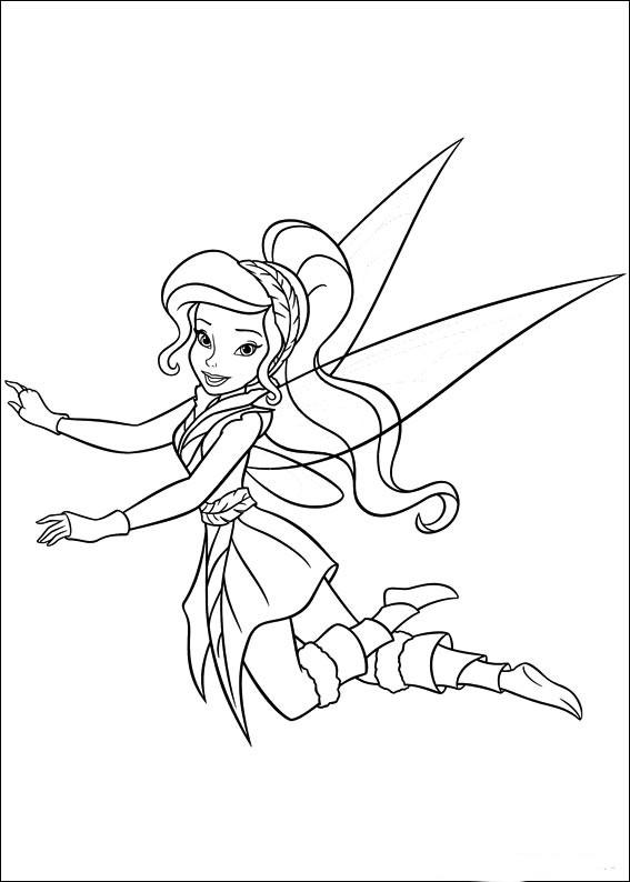 Pintando y coloreando dibujos del Secreto de las hadas animados