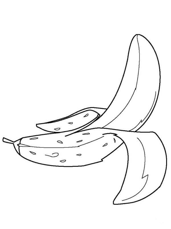 Pintar y colorear dibujos de frutas