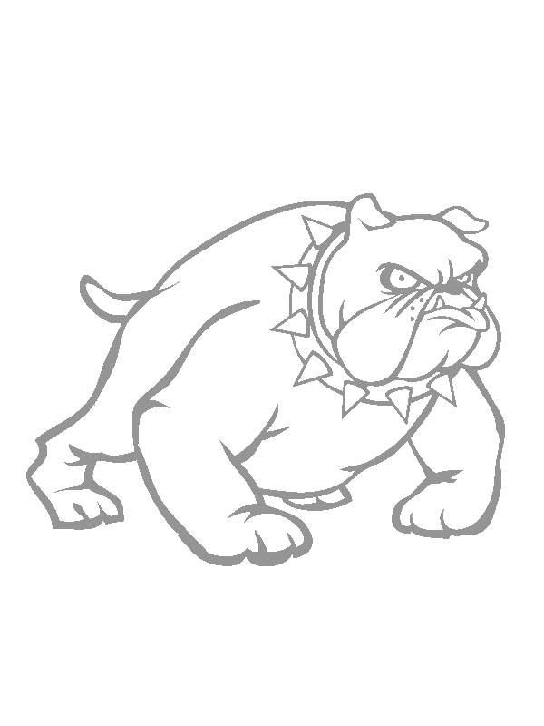 Pintando y coloreando dibujos de perros