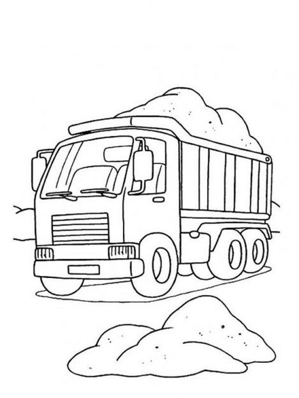 Pintando Y Coloreando Dibujos De Medios De Transporte